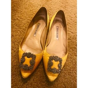 Manolo Blahnik flat shoes